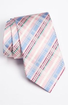 Love the colors and pattern on this one. Brighten up a suit without being flashy