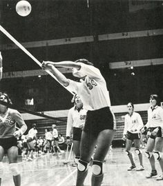 Oregon women's volleyball 1979-80. From the 1980 Oregana (University of Oregon yearbook). www.CampusAttic.com