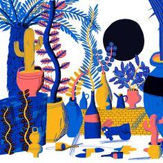 Dave Prosser- I love the colour palette choice