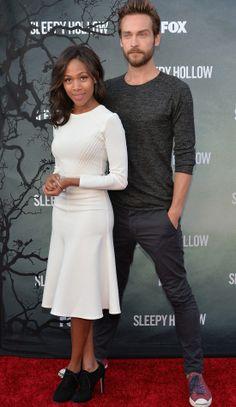 "Nicole Beharie and Tom Mison | ""Sleepy Hollow"" Special Screening in Hollywood, June 2014"