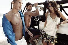 So hot.  Armani Exchange Ad
