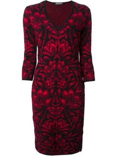Shop Alexander McQueen floral jacquard dress in Jean Pierre Bua from the world's best independent boutiques at farfetch.com. Over 1000 designers from 300 boutiques in one website.