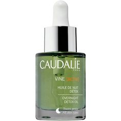 Caudalie Vine[Activ] Overnight Detox Night Oil (€47) ❤ liked on Polyvore featuring beauty products