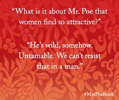 —Mrs. Poe by Lynn Cullen mrspoebook.com #MrsPoeBook