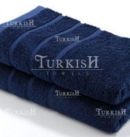Yachting Towels - Navy