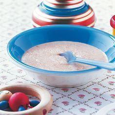 Grundrezept Nachmittagsbrei: Getreide-Obst-Brei Rezept | Küchengötter