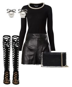 """""""Pearls for the girls!"""" by sophistaglam on Polyvore"""