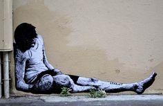 Jeu de dupes – The Street Art by french artist Levalet | Ufunk.