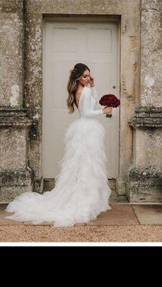 Lydia Elise Millen wedding dress