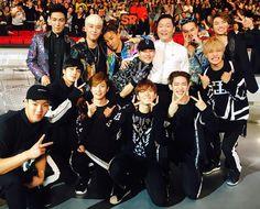 Seungri's IG // BIGBANG, Monsta X and Psy