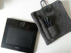 Bamboo Wacom Tablet Case Crochet
