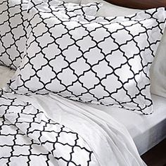 @Overstock - A striking geometric print delicately highlights this duvet cover set. Constructed of soft microfiber, this elegant duvet cover set features a brushed finish for smooth, lustrous comfort.http://www.overstock.com/Bedding-Bath/Charleston-3-Piece-Duvet-Cover-Set/6531678/product.html?CID=214117 $29.99