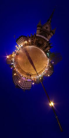 Stereographic Projection Photography – 100 Little Planets