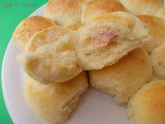 palline di pane farcite