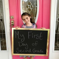 With Style & Grace   First Day of School