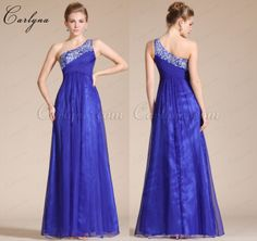 Carlyna 2014 New One Shoulder Empire Waistline Long Evening Dress/Bridesmaid Dress>http://bit.ly/Carlyna-C36140205