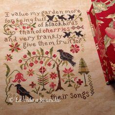 El primer d�a que vi en internet una imagen de este gr�fico de Blackbird Designs me encant� el texto que recrea, porque refleja a la perfecci�n lo que me pasa a m� con el jard�n: