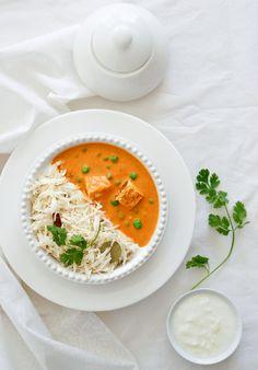 Tofu in rich N' cream curry