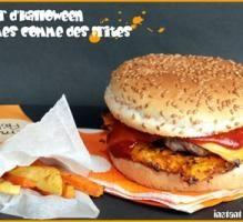 Recette - Burger de Halloween - Proposée par 750 grammes