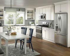 Home Mc T Construction Llc With Merillat Cabinetry Tall Kitchen Cabinets Bath Upper