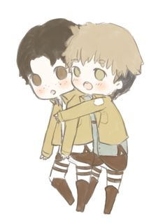 Jean x Marco by maicafee on @DeviantArt