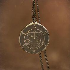 Duke Agares Lesser Key of Solomon Seal kabbalah amulet