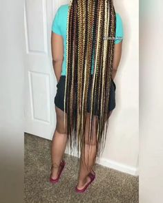 Excellent Pictures Long box braids videos Tips A person return immediately after daily with braiding. The head however hurts. A person imagined a p Box Braids Hairstyles For Black Women, Braided Hairstyles For Black Women, African Braids Hairstyles, Braids For Black Hair, Braid Hairstyles, Short Hairstyles, Office Hairstyles, Anime Hairstyles, Stylish Hairstyles