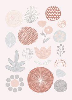 Cute Patterns Wallpaper, Cute Wallpaper Backgrounds, Aesthetic Iphone Wallpaper, Aesthetic Wallpapers, Artsy Background, Doodle Background, Background Patterns, Pattern Art, Print Patterns