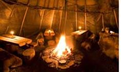Traditional Sami Tent, Norway