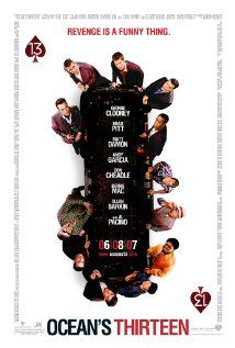 Ocean's 13. Danny Ocean rounds up the boys for a third heist, after casino owner Willy Bank double-crosses one of the original eleven, Reuben Tishkoff.
