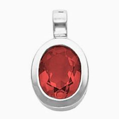 Platinum Oval Cut Mozambique Garnet Pendant Gems-is-Me. $1024.10. Also available for other size gemstones.. FREE PRIORITY SHIPPING. This item will be gift wrapped in a beautiful gift bag. In addition, a 'gift message' can be added.