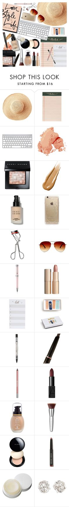 """""""DeskTop"""" by ashley-rebecca ❤ liked on Polyvore featuring beauty, Garance Doré, Toast, Rifle Paper Co, Bobbi Brown Cosmetics, Hourglass Cosmetics, Kevyn Aucoin, Steve Madden, Montegrappa and Charlotte Tilbury"""