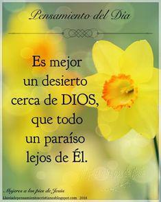 Biblical Quotes, Jesus Quotes, Faith Quotes, True Quotes, Bible Quotes, Spanish Inspirational Quotes, Good Morning Inspirational Quotes, Gods Love Quotes, Quotes About God