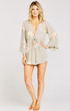 Roxy Romper ~ Lily Showers  | Show Me Your Mumu