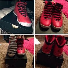 competitive price 0cd20 39c27 Retro Jordan 10s Jordan Red, Womens Jordans