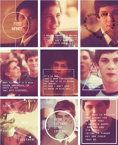 Perks of Being a Wallflower! These days I feel exactly like Charlie does sometimes.
