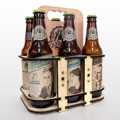 Packaging of the World: Creative Package Design Archive and Gallery: Aleing Authors Craft Beer (Student Project)