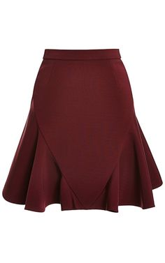 Flared Stretch-Jersey Skirt by Cushnie et Ochs - Moda Operandi
