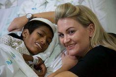 Muere el niño hindú que recibió una cirugía reconstructiva de cuello