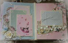 альбом для малыша альбом для девочки альбом для девушки baby album скрапбукинг scrapbooking шебби-шик shabby шебби