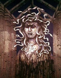 Disneyland Haunted Mansion Medusa/After Portrait