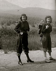 fangdandwarlikemistress: Two ladies going hiking... | Giant Pants of the '30s