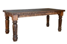 RUSTIC SANTA RITA TABLE    $599