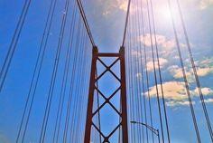 Puente 25 de Abril  #lisbon #travel #puente