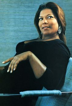 Queen Latifah (not to mention her spot on Gwen Ifill imitation.)