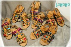 Bohoho sandals. Handmade greek sandals