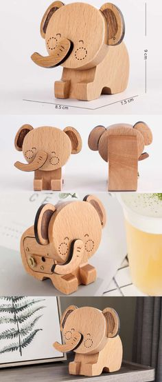 Wooden Wood   Elephant music box Boxes ||  Elephant music box Boxes ||Funny music box Boxes ,I love this so much,I would love this!!!!