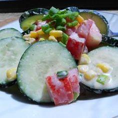 Wally's Cucumber Salad Allrecipes.com