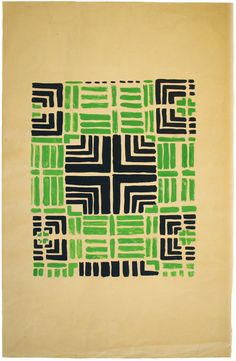 Variation on Design 1355, 1934, gouache on paper, private collection, © L & M SERVICES B.V. The Hague 20100623, Photo: © private collection  Read more at Design Milk: http://design-milk.com/color-moves-art-and-fashion-by-sonia-delaunay/#ixzz1H48KSXsS