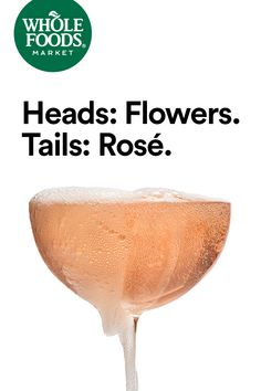 Flowers, bubbly. Bubbly, flowers. Just flip a coin. #Rosé #MakesMeWhole